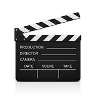 Filmklappe für Filmporträts APN