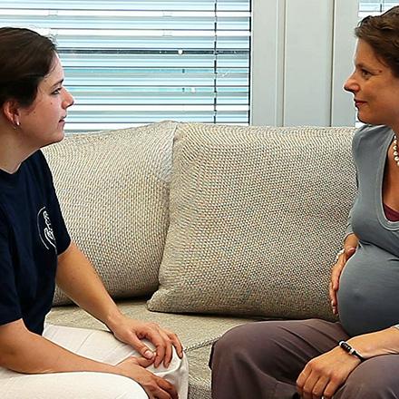 Lernen von Schwangeren
