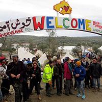 Flüchtlingscamp und Ergotherapie