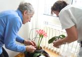 Pflanzen helfen im Altersheim