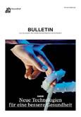 """Cover der Zeitschrift """"Bulletin"""""""